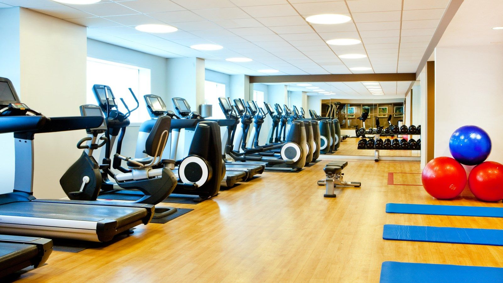 sheraton fitness center