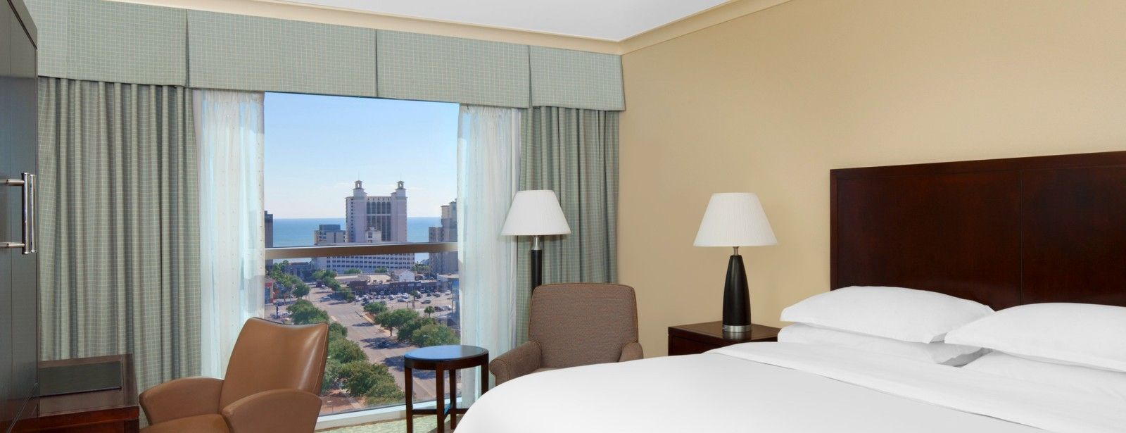 Deluxe Ocean View | Sheraton Myrtle Beach Convention Center Hotel