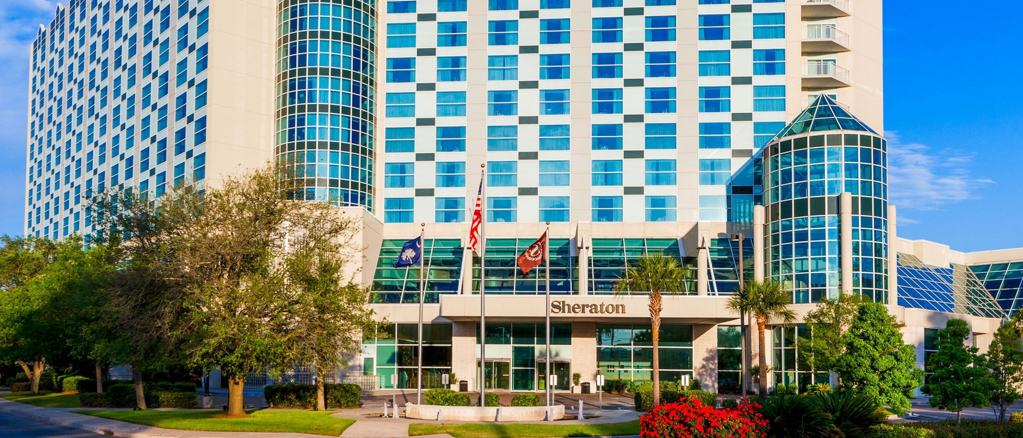 Sheraton Myrtle Beach Convention Center Hotel Exterior